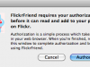 flickr-authorisation